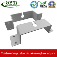 Powder Coated Progressive Die Metal Stamping Bracket Parts for WiFi Router Application
