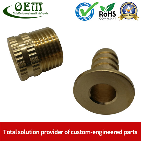 Top Qualified Brass Hydraulic Hose Connector - Brass Machining Parts for Marine