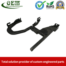 Powder Coated Sheet Metal Stamping Fabrication Bracket for Package Machinery