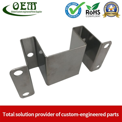 Precision Stainless Steel Metal Stamping Brackets for Brass Valve Couplers