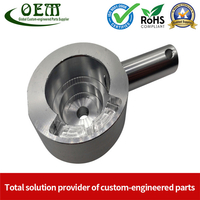 Tight Tolerance Aluminium CNC Milling Parts of Medical Optical Sensor Handles