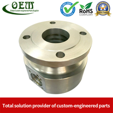 Custom Aluminum Parts CNC Turning Milling Machining Aluminum Holder for Industrial Automation