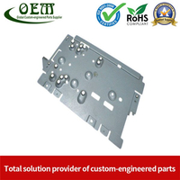 Aluminum Stamping Bracket Parts for Electronic & Hardwares