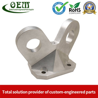 High Precision Aluminum CNC Turned Turning Parts - Aluminum Shelf Latch Hooks Used for Safety Protection Industry
