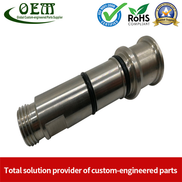 Stainless Steel CNC Machining Parts - High Precision Shaft Used for Beer Brew Machinery